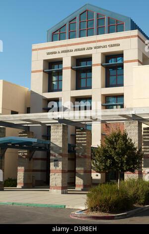 The Walter A Buehler Alumni and Visitors Center at the University of California Davis (UC Davis) - Stock Photo