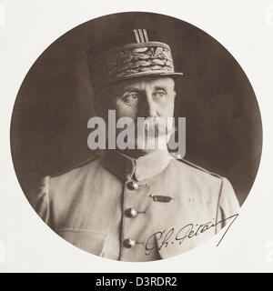Philippe Petain, First World War General and President of France during the Second World War in the Vichy Government. - Stock Photo