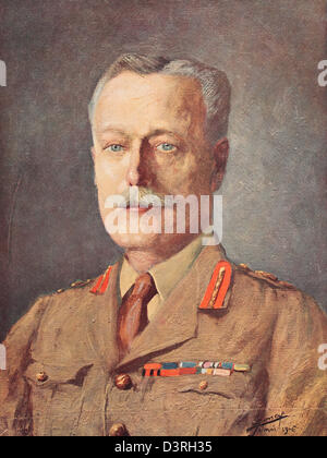 Field Marshal, Sir Douglas Haig, Commander in Chief of the British Army in the First World War - Stock Photo