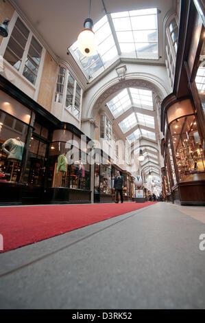 The Burlington Arcade - Stock Photo