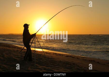Fisherman - Alderney, Channel islands, United kingdom - Stock Photo
