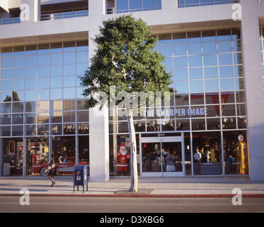 Sharper Image store Stock Photo - Alamy