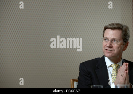 Berlin, Germany, Foreign Minister Guido Westerwelle, the FDP - Stock Photo