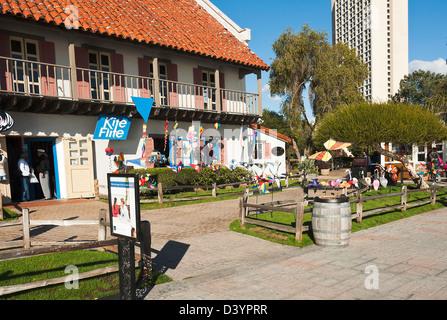 Kite Flite Shop Selling Kites and Garden Toys in Seaport Village San Diego California United States America USA - Stock Photo