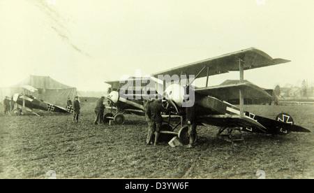 Fokker, Dr.I, Triplane - Stock Photo