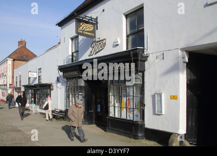 boots the chemist in midhurst in west sussex - Stock Photo