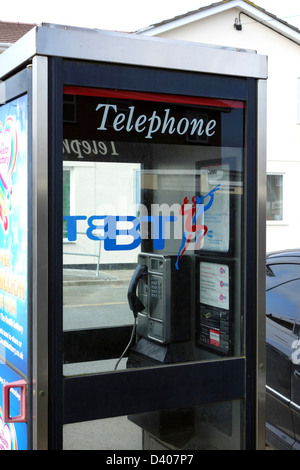 A BT Telephone Box - Stock Photo