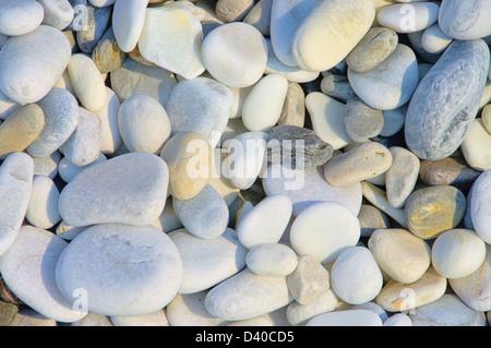 Kieselstrand Toskana - pebble beach Tuscany 08 - Stock Photo