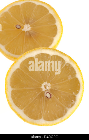 Halved lemon - Stock Photo