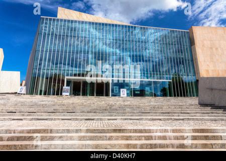 Philharmonic in Olsztyn, Warmia and Mazuria, Poland - Stock Photo
