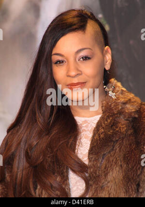 London, UK. 28th February 2013. Jade Ellis at the European Premiere of  'Oz the Great and Powerful' at the Empire - Stock Photo