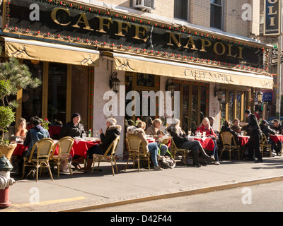 Cafe Napoli Mulberry St Nyc
