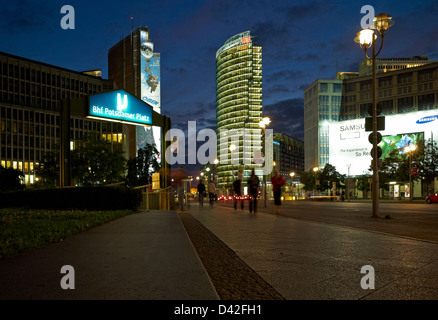 berlin skyscrapers in the leipziger strasse in mitte stock photo 48982908 alamy. Black Bedroom Furniture Sets. Home Design Ideas