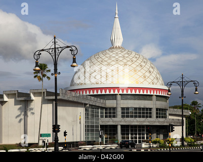 Brunei, Bandar Seri Begawan, Royal Regalia Museum, - Stock Photo