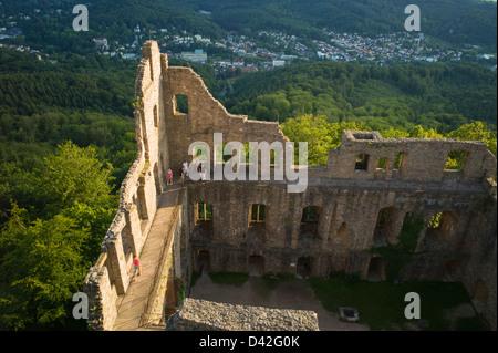 Castle Hohenbaden Baden-Baden Baden-Wuerttemberg Germany