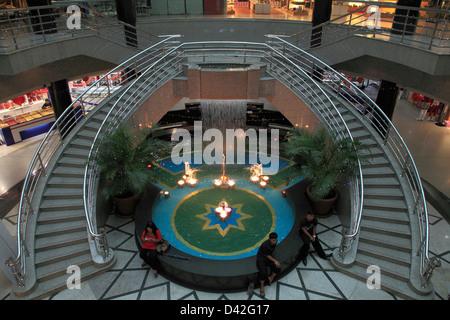 Brunei, Bandar Seri Begawan, Yayasan Complex, shopping centre, - Stock Photo