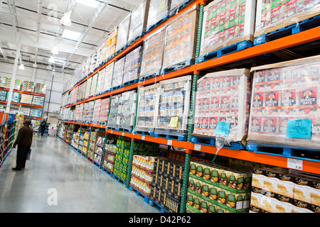 Products on display at a costco wholesale warehouse club stock photo products on display at a costco wholesale warehouse club stock photo thecheapjerseys Gallery