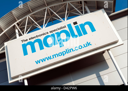 Maplin shop in Hereford, UK. - Stock Photo