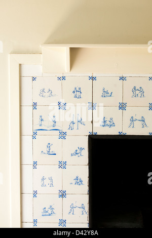 A design feature in Hill house designed by Charles Rennie Mackintosh and built for Walter Blackie in Helensburgh, - Stock Photo