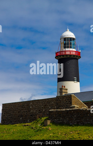 East Lighthouse Rathlin Island Co Antrim Northern Ireland - Stock Photo
