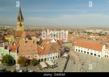 Sibiu Cityscape - Stock Photo
