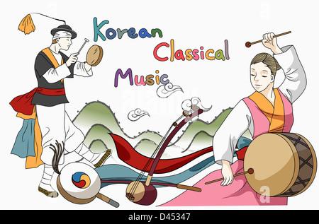 korean classical music, percussion instrument, musical instrument ...