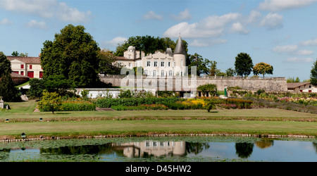 Château Lafite Rothschild in Pauillac Medoc Nr Bordeaux France - Stock Photo