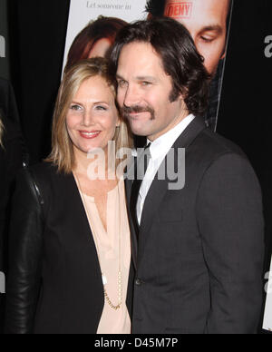 paul rudd and his wife julie yaeger at arrivals for dinner