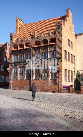 Archidiakonat, Wismar, Mecklenburg Vorpommern, Germany - Stock Photo