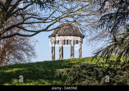 The Temple of Aeolus at Kew Gardens, Surrey,UK - Stock Photo