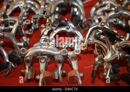 Bicycle brakes by Weinmann Vainqueur - Stock Photo