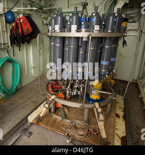 Salinity Processes in the Upper Ocean Regional Study (SPURS) (201209040006HQ) - Stock Photo