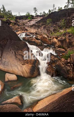 Rio On Pools in the Mountain Pine Ridge - Stock Photo