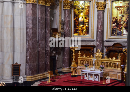Berlin cathedral (Berliner Dom), Germany - Stock Photo