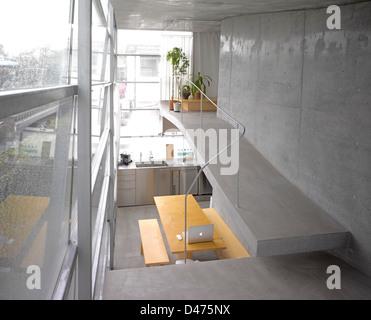 The Mist House, Tokyo, Japan. Architect: TNA, 2012. - Stock Photo