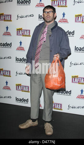 ANGELOS LOADED LAFTA'S 10TH ANNIVERSARY SWAY LONDON ENGLAND UK 07 March 2013 - Stock Photo