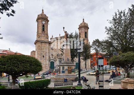 la Catedral, Potosi, Bolivia, South America - Stock Photo