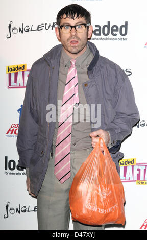 London, UK. March 7th 2013. at Loaded Laftas Comedy Awards at Sway Nightclub Covent Garden, London, UK.   Photo - Stock Photo