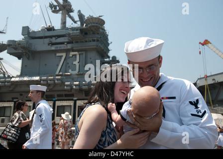 U S Navy Logistics Specialist 3rd Class Claudia Morales Waits ...