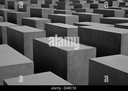 holocaust memorial - Stock Photo