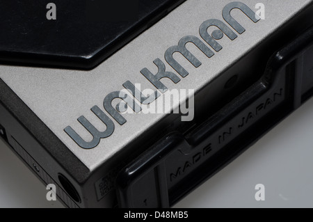 Sony Walkman cassette player - Stock Photo