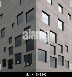 sanaa, zollverein kubus, 2003-2006 - Stock Photo