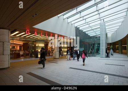 Galleria shopping mall entrance at new Tokyo Midtown, a mixed-use shopping, hotel and residential complex in Roppongi, - Stock Photo