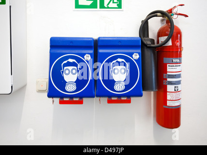 Berlin, Germany, marzipan factory Georg Lemke GmbH & Co. KG., Work safety - Stock Photo