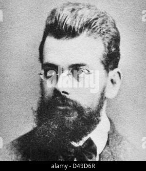 Ludwig Eduard Boltzmann, Austrian physicist - Stock Photo