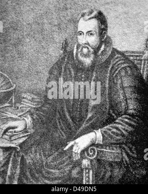 John Napier, Scottish mathematician - Stock Photo