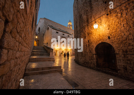 Picture taken in Dubrovnik, Croatia - Stock Photo
