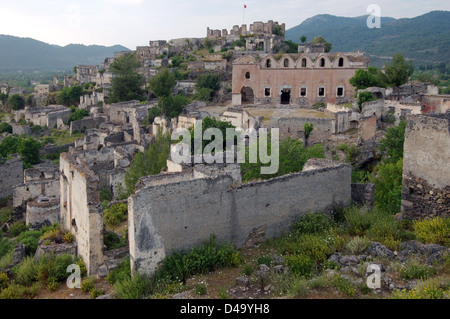 Greek ghost town of Levissi, Karmylassos, Kayakoey, Turkey ...
