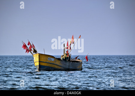 Fishing boat on the Polish Baltic coast