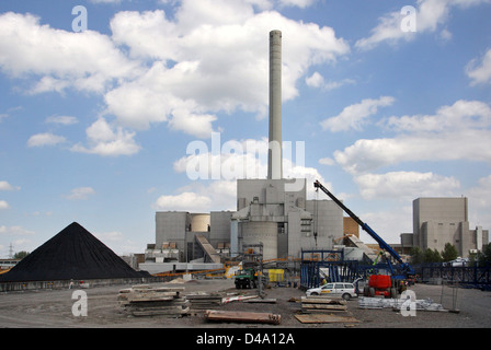 Hamm, Germany, decommissioned nuclear power plant of the THTR-300 Westfalen power plant - Stock Photo